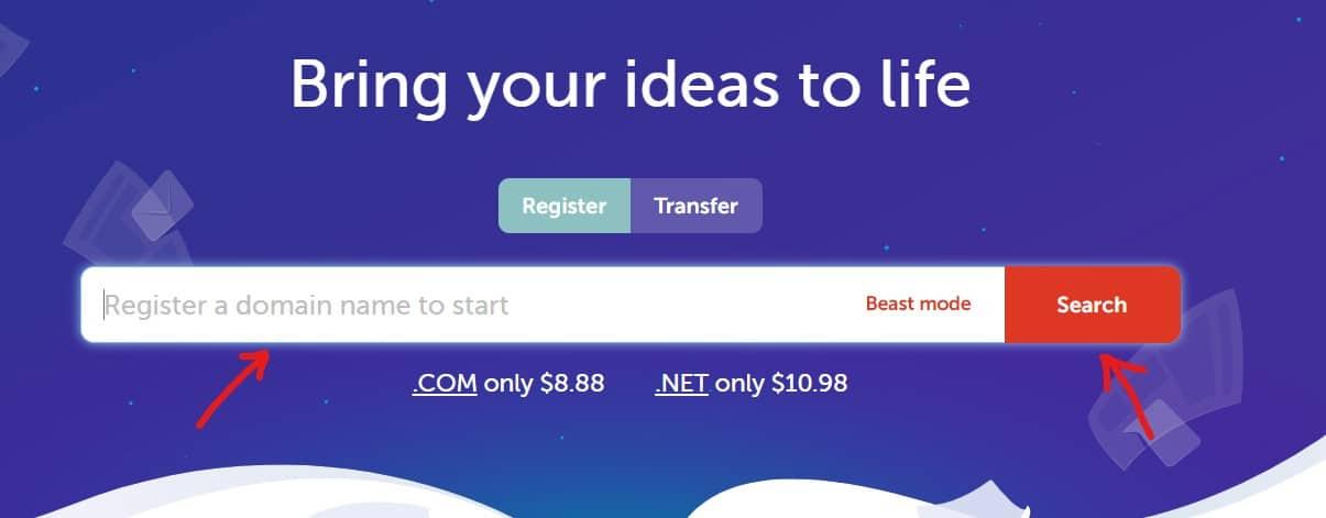 Step 1: Buy Domain Name from Namecheap