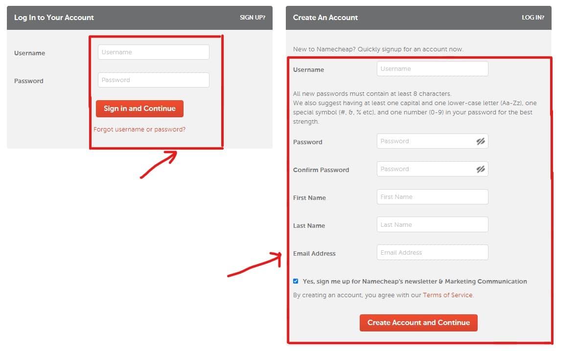 Step 5: Buy Domain Name from Namecheap