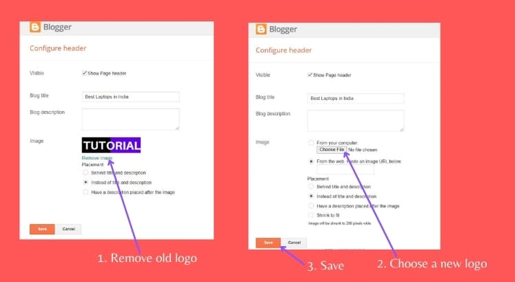 How To Change The Design Of Your Blogger Blog To Give A Professional Look?