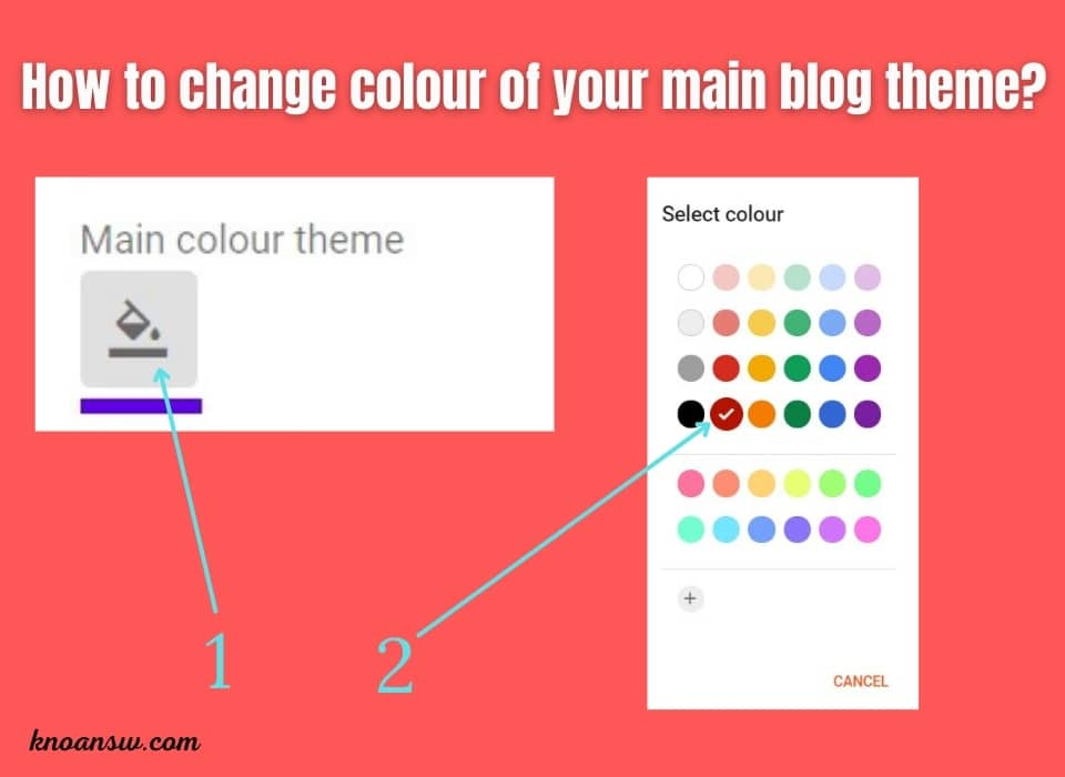 Change The Look of your blog