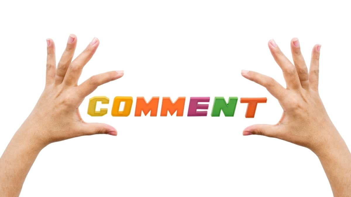What Is The Importance Of Comment Section?